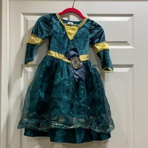 Disney Store Brave Merida Princess Dress Costume 4